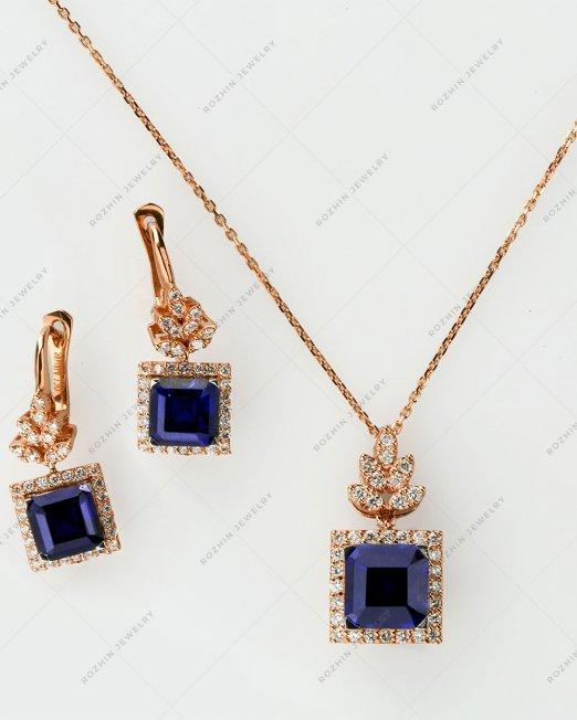 نیم ست جواهر 1501