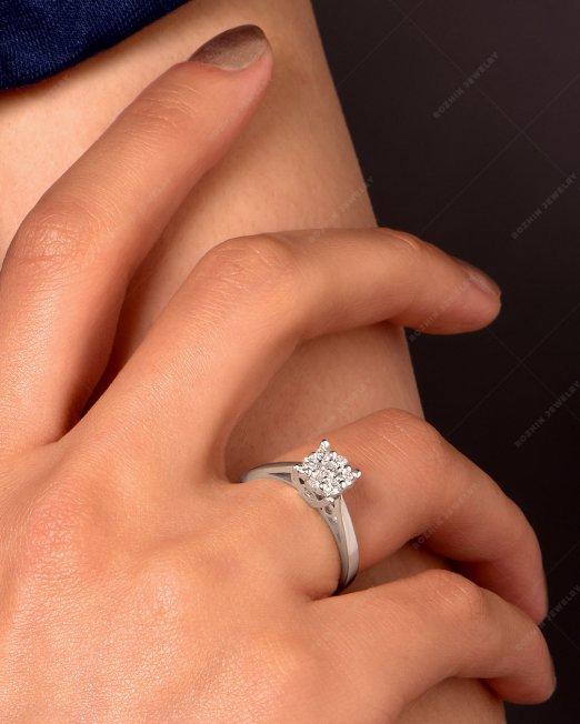 انگشتر جواهر 1801