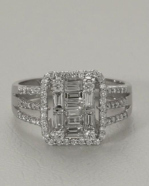 انگشتر جواهر روژین کد 1822