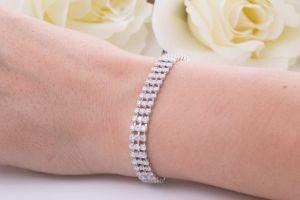 دستبند برلیان (الماس) مورد علاقه خانم های خوش سلیقه
