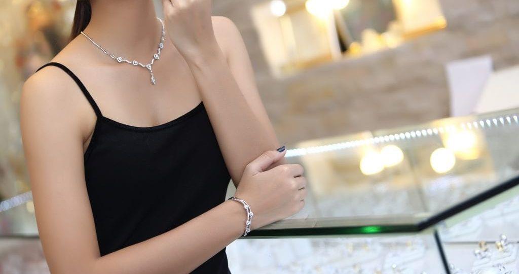 ست جواهرات روژین