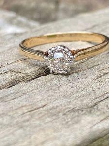 انگشتر جواهر دست ساز