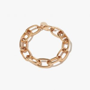 دستبند طلای ساده و مینیمالیستی